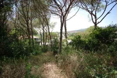 Plot of land for sale near Barcelona, Spain, with a current project under construction